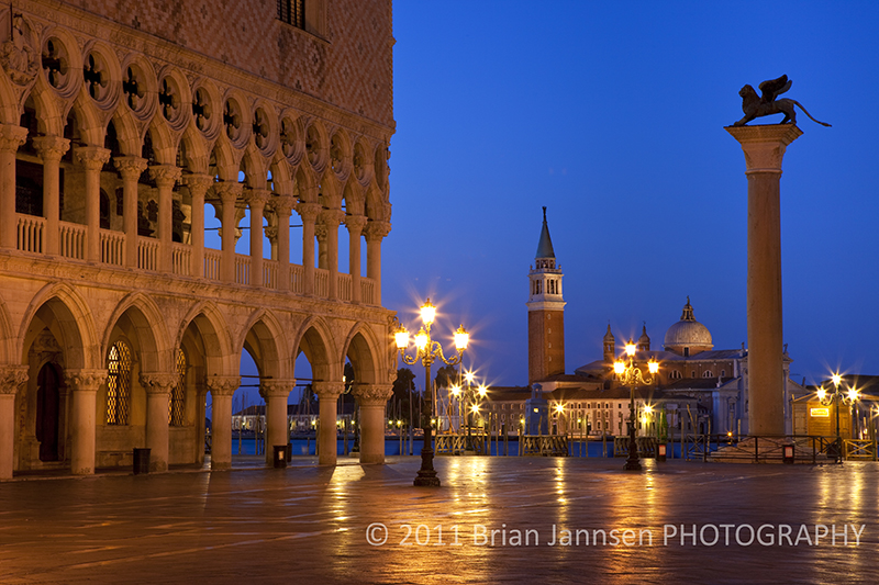 Doges Palace Piazza San Marco Venice Italy