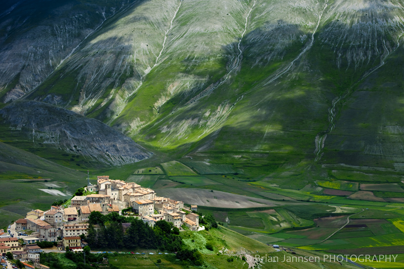 Castelluccio Umbria Italy Piano Grande Photography workshop Tour
