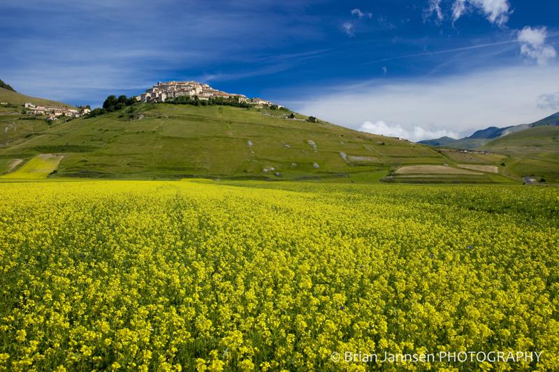Castelluccio Umbria Italy Piano Grande Photography Tour workshop