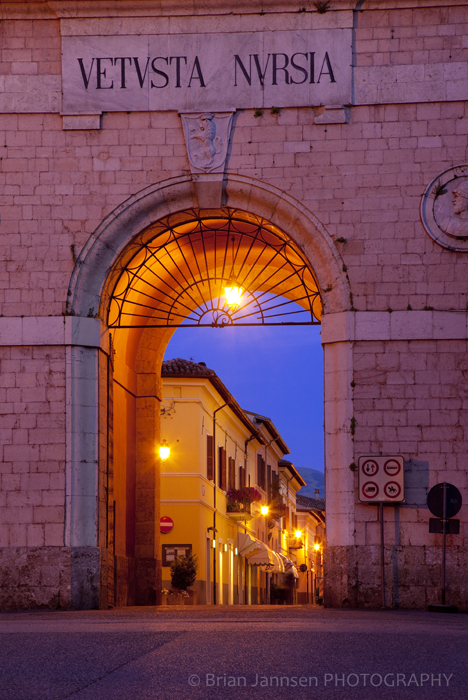 Norcia Umbria Italy Photography Workshop Tour
