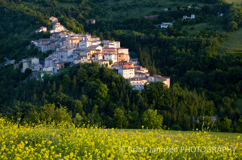 Preci Umbria Italy Valnerina Village Town Photography Workshop Tour