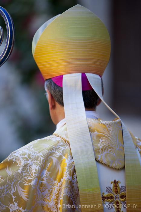 Catholic Priest Procession Sant EutizioUmbria Italy Photography Workshop Tour