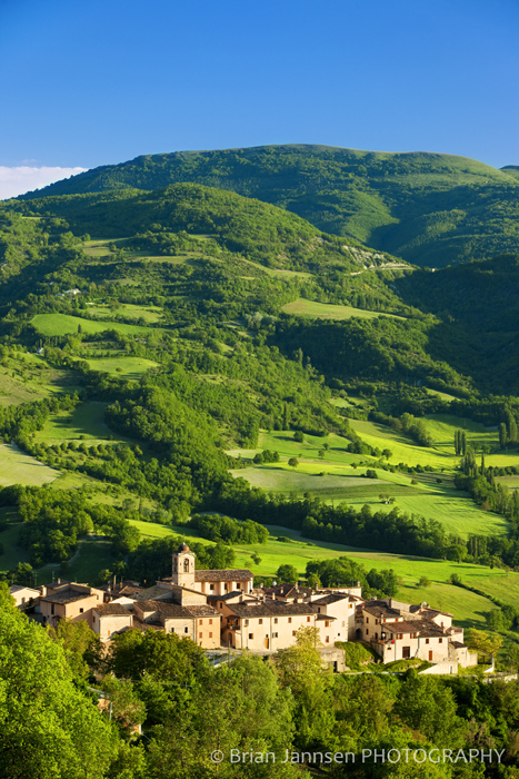 Castelvecchio in the Valnerina Umbria Italy Photography Workshop Tour