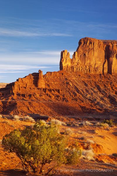 Sunrise Sentinel Mesa Monument Valley Navajo Tribal Park Arizona