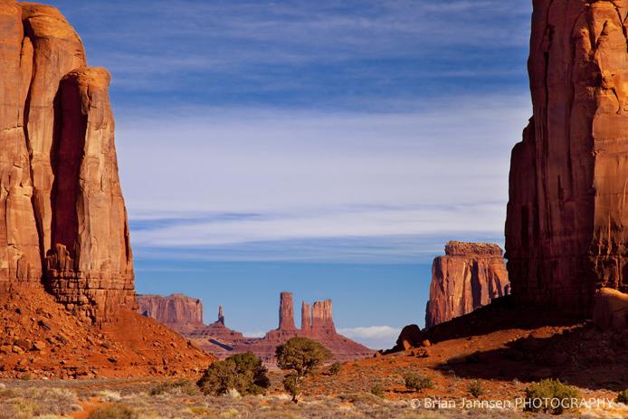 North Window Monument Valley Arizona Navajo Tribal Park