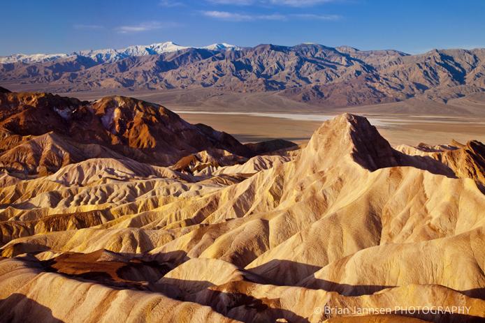 Manly Beacon Zabriski Point Death Valley California Sunrise