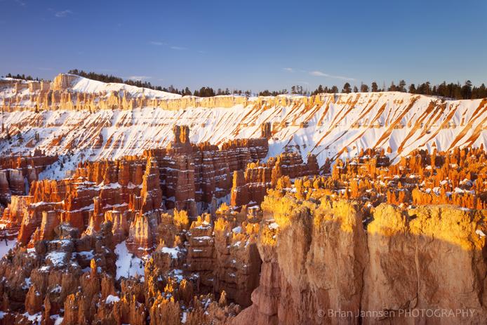 Bryce Canyon National park Utah Rock formations Hoodoos