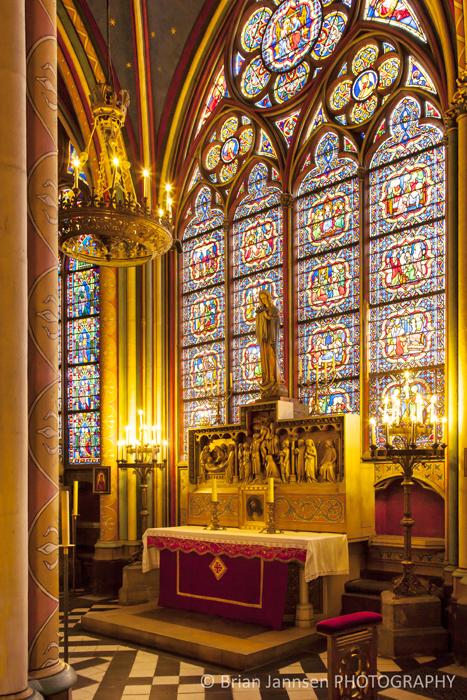 Chapel Notre Dame Cathedral Paris France