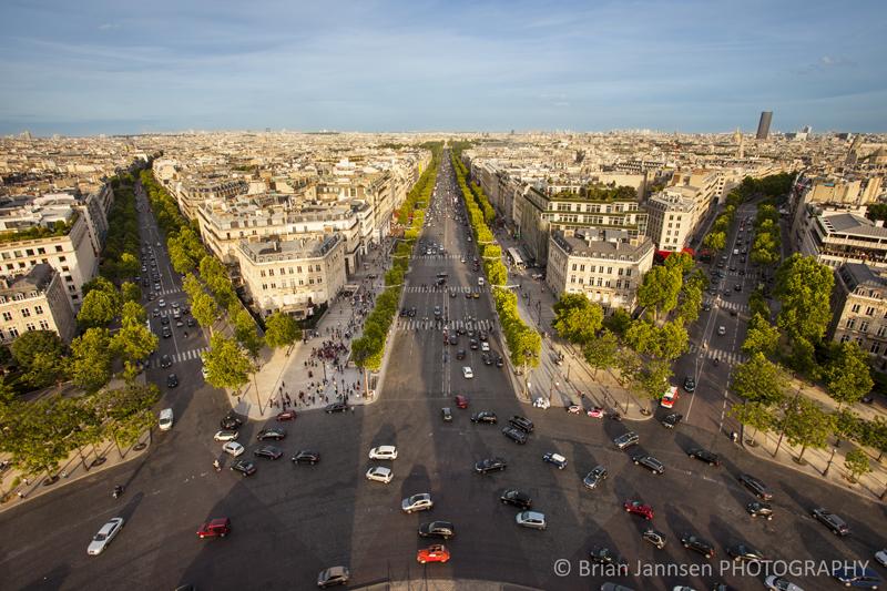 Paris Arc de Triomphe Paris France